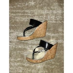 Bebe Wedge Flip-flop Sandals